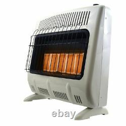 Mr. Heater Vent-Free Radiant Natural Heater 30000 BTU, Off-White, F299831