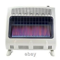 Mr heater 30000 btu vent free blue flame natural gas heater mhvfb30ngt