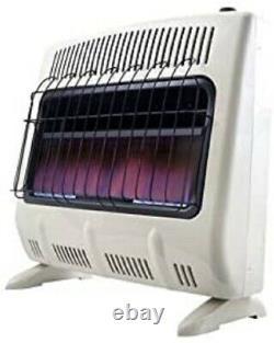 NEW Mr Heaterblue Flame 30000 Btu Natural Gas Vent Free Heater