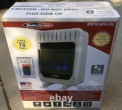 NEW ReddyHeater Vent Free Gas Wall Heater 10,000 BTU Blue Flame BWH10NLMC NEW