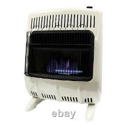 Natural Gas Heater Mr. Heater 20,000 BTU Vent Free Blue Flame Portable