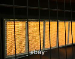 Natural Gas Heater Vent Free Infrared Wall Garage Home Ventless Space 30,000 BTU