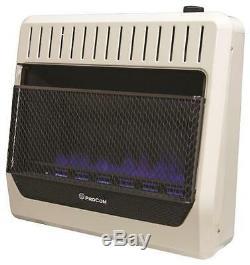 New Procom Mgt30bf Natural Or Propane Blue Flame Gas Heater 30k Btu 9542085