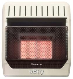 PROCOM ML2PHG Infrared Wall Heater, LP Gas, Vent-Free, 18,000-BTU Quantity 1