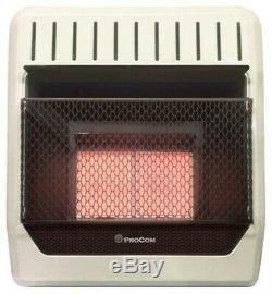 Part ML2PHG, Procom Heating Inc, ProCom, 18,000 BTU, LP Gas, Vent Free, Infrared W