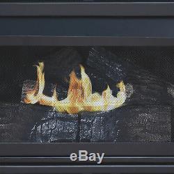 Pleasant Hearth Vent-Free Fireplace 27,500 BTU 42in Natural Gas Tobacco Finish