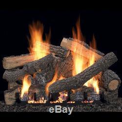 Ponderosa Vent-Free Gas Log Set Optional REMOTE 18, 24, 30