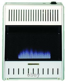 ProCom 20,000 BTU Duel Natural Gas/Propane Gas Vent-Free Blue Flame Wall Heater