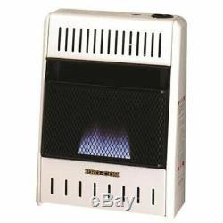 ProCom MD100TBA Vent Free GAS HEATER Dual Fuel 10,000 BTU Blue Flame