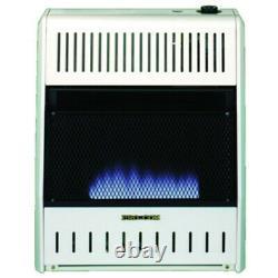 ProCom MG20TBF Dual Fuel Vent Free Blue Flame Gas Wall Heater, 20000 BTU