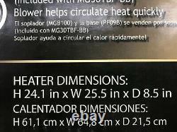 ProCom MG30TBF 30,000 BTU Natural/Propane Gas Vent-Free Wall Heater New