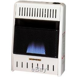 ProCom MN060HBA Ventless Blue Flame Natural Gas Heater, Vent Free 6,000 BTU