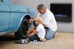 ProCom MNSD300TGA Dual Fuel Vent Free Garage Gas Heater, Ventless -30,000 BTU