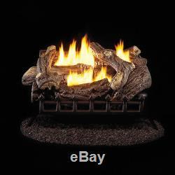 ProCom Ventless Natural Gas Log Set 24in, 34,000 BTU, Model#WZN24HLA