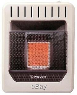 Procom MN1PHG 10,000 BTU Vent Free NATURAL GAS Infrared Wall Heater