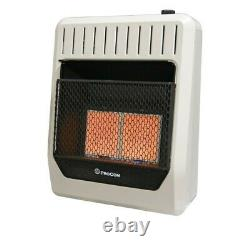 Procom MN2PHG Ventless Wall Heater 20000 BTU Natural Gas Infrared For 700 sq ft