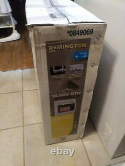 Remington 18000-BTU Wall or Floor Mount Natural Gas Vent Free Infrared Heater