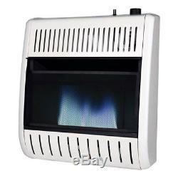Remington 20000 BTU LP Propane Piezo Blue Flame Vent Free Thermostat Wall Heater