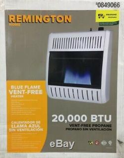 Remington 20,000-BTU Wall Heater Propane Vent Free Blue Flame 0849066