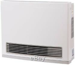 Rinnai 22,000 BTU Propane Gas Vent-Free Fan Convector Wall Heater Electrical