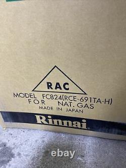 Rinnai FC824N 24000 Btu Vent Free Fan Convector Furnace Natural Gas (S-24 #90)