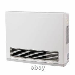 Rinnai FC824N White 24000 Btu Vent Free Natural Gas Fan Convector