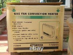 Rinnai FC824N White 24000 Btu Vent Free Natural Gas Fan Convector Furance