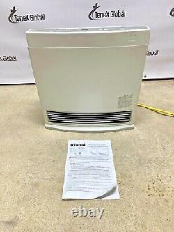 Rinnai Model FC510 Natural Gas Vent Free Heater 10,000 BTU (Q-35)