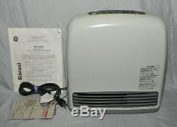 Rinnai RCE-229A-P SILENT SERVANT Vent-Free Propane LP Gas Space Heater 6000 BTU