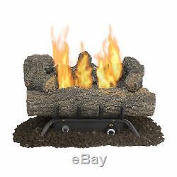 Savannah Oak 18in Vent-Free Natural Gas Fireplace Logs US