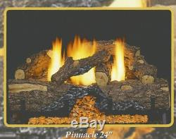 Sierra Pinnacle Vent Free Gas Log 18 Remote Ready Natural Gas