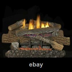 Stoney Ridge Vent Free 24 Gas Logs with Variable Control NG