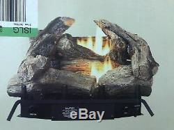 Style Selections 18 Manual Natural Gas Vent Free 32,000 BTU Logs 1,100 Sq Ft