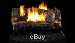 Superior 27 Multi-Sided, Vent Free MV Burner & Log Set-Natural Gas