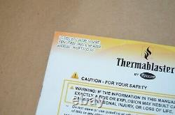 THERMABLASTER 10,000 BTU BLUE FLAME VENT-FREE HEATER (Dual Fuel LP or NG)