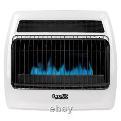 Thermostatic Gas Wall Heater Vent Free Home Surface Mount Convection Variable