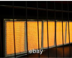 Thermostatic Wall Heater Dyna-Glo 30000 BTU Natural Gas Infrared Vent Free