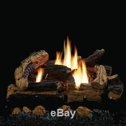 VENT FREE GAS LOGS 18 Empire Kennesaw Natural Gas Or Propane- Free Remote
