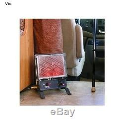 Vent Free LP Gas Catalytic Space Portable Heater Adjustable RV Cabin Room Mount