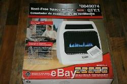 Vent Free Space Heater Dual Fuel Propane Natural Gas Wall Mount Dyna-Glo BF20DTL
