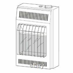 Vn6d Vanguard Vent-free Gas Wall Heater