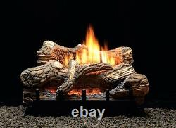 WHITE MOUTAIN HEARTH 24 FLINT HILL LOG SET MILLIVOLT NATURAL GAS With REMOTE