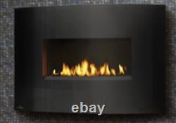 WHVF 24 Modern Linear Vent Free Natural Gas Fireplace Electronic Ignition