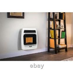 Wall Heater Natural Gas Infrared Vent Free Thermostatic Natural Gas 12,000 BTU