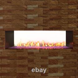 White Mountain Hearth By Empire Carol Rose 60-Inch Vent Free NG Outdoor Linear S
