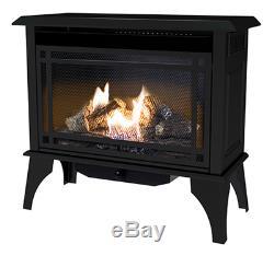 World Mktg Of America/Import GSD2846 Gas Stove, Vent-Free, Dual Fuel, Black